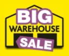 Big Warehouse Sale Crazy Clearance at Big Warehouse Sale
