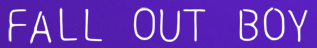 Fall Out Boy Shop Now and Save $15