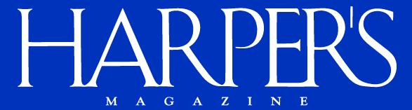 Harper's Magazine 40% Off Sitewide
