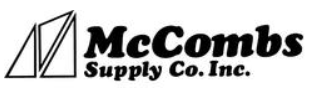 McCombs Supply coupon codes